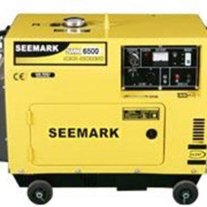תמונה של גנרטור מושתק תלת פאזי SDE8000E3