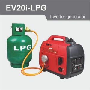 """alt=""""תמונה של גנרטור מושתק גז EV20i-LPG"""""""