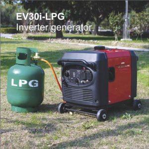 תמונה של גנרטור מושתק גז EV30i-LPG