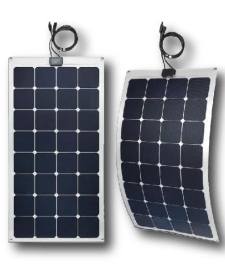 פנל סולארי גמיש 100 וואט